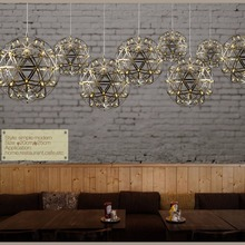 Floureon 12W LED Pendant Light Home Ceiling Lamp Christmas Fixture Adjustable Pendant Light Dinning Room /Bar/Resturant Lighting