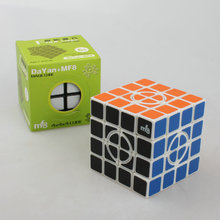 High quality Magico cubo Crazy MF8 generation fourth-order puzzle cube white Crazy 4x4x4 super fourth-order cube in cube