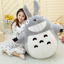 20 cm /40 cm soft Stuffed Totoro Toys lovely plush Animals dolls Kawaii Famous Movie character cartoon Dolls High Quality Dolls