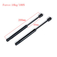 Free shipping 200mm central distance, 60 mm stroke, pneumatic Auto Gas Spring for car , Lift Prop Gas Spring Damper(China)