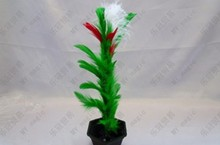 20pcs/lot Appearing Flower In Pot From Wand/Stick to Flower,Small Size - Magic Tricks,Props,Comedy,mentalism