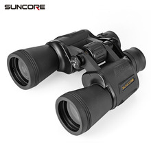 SUNCORE 20X50 Binoculars BAK4 roof prism HD Vision Wide-angle Prism Binocular Outdoor Folding hunting Telescope 119M/1000M(China)