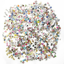 Buy New arrive 100pcs/lot mix random different floating charms living glass floating pendant lockets charms for $11.82 in AliExpress store