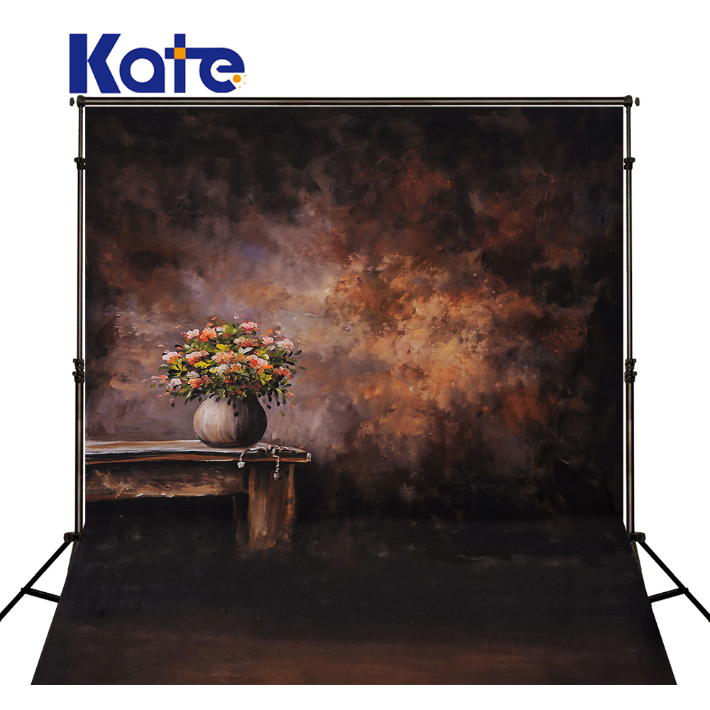 Kate 5x7ft Abstract Solid Color Photography Backdrop With Chair Vase Backgrounds For Photo Studio Portraits Washable Background <br>