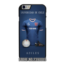 Custom UNIVERSIDAD DE CHILE Jersey Cover Case for IPhone 4 4s 5 5s 5c se 6 6s 7 plus Sony Z1 Z2 Z3 Z4 Z5 C3 C4 C5 M2 M4 T3 X XA