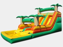 (China Guangzhou) manufacturers selling inflatable slides, inflatable castles, Pool slide CB-79