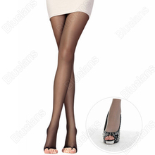 Buy Pretty Womens open toe sheer Ultra-thin Tights Pantyhose Stockings hot