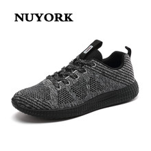 Nuyork New fashion chaussure homme sneakers for Female high quality walking wear brand trainers men casual shoes zapatos mujer(China)
