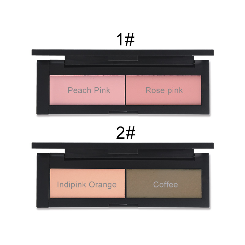 HENLICS Beauty Product Series Wonderful 2 Color Makeup Blush Face unlimited color fairy Blusher Powder Palette Cosmetic  (14)