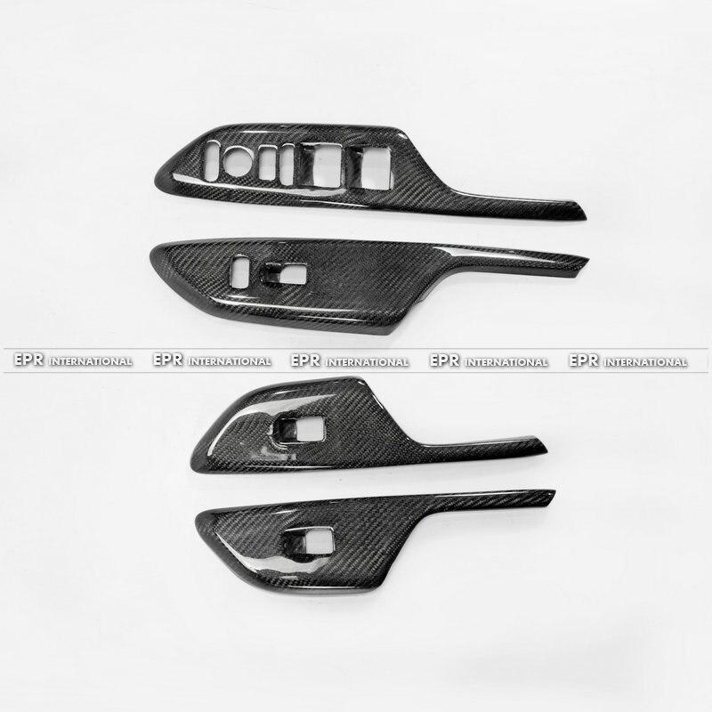 10th Generation Civic FC Window Switch trim 4Pcs LHD (4Door Front & Rear) LHD CF(4)_1