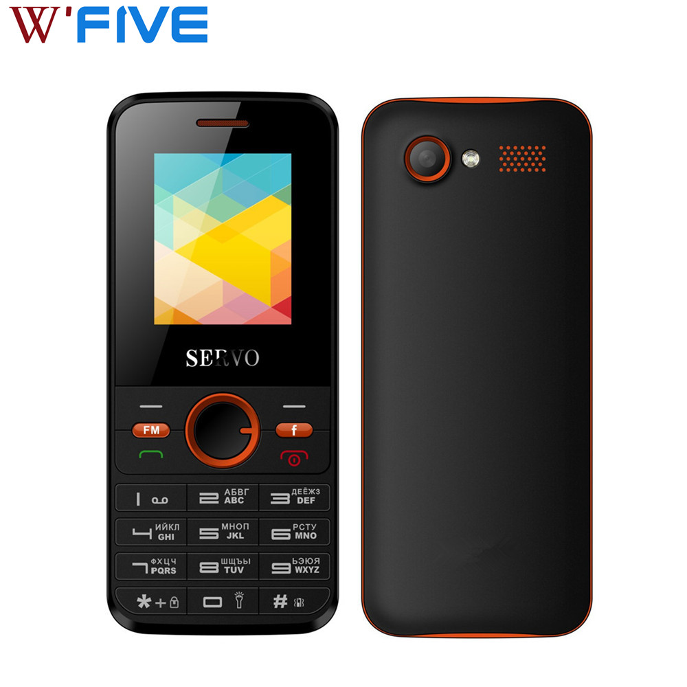 SERVO V8240 2gb GSM Bluetooth New Mobile-Phones Russian-Keyboard Vibration Fm-Radio Dual title=