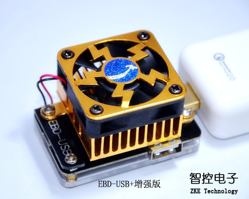 EBD-USB Load, QC2.0/3.0, MTK-PE Trigger, Voltage Current Monitoring, Capacity Test<br>