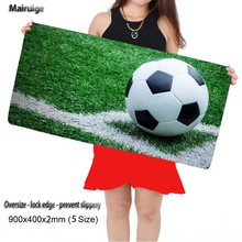 Mairuige Football Large 900*400 Speed Keyboards Mat Rubber Gaming Mouse pad Desk Mat for Game Player Desktop PC Computer Laptop(China)