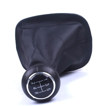 5 Speed Gear Shift Knob Gaitor Cover Black For VW For PASSAT B5 For Volkswagen handle and fabric