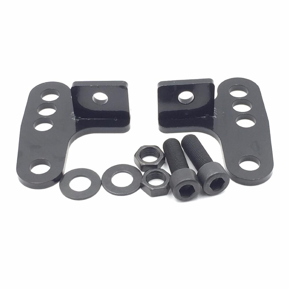 2005-2014 Harley SPORTSTER Sporty Rear Adjustable Slam LOWERING KIT Blocks 1 2 3 For XL1200CP Nightster XL1200N Low XL1200L<br>