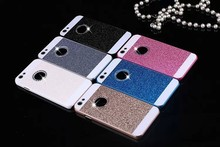 New Shinning Logo Window Back Cover Sparkling Phone Cases for iPhone  5S 6 6s 6splus Luxury Flash Diamond Mobile Phone Bling Cas