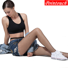 Buy POINTOUCH Sexy Summer Fishnet Tights Mesh Nylon Stockings Lace Thin Tight High Elastic Grid Pantyhose Women Girls Lingerie