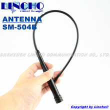 504B vhf uhf antenna 144/430 mhz antenna, dual-band flexible whip antenna, vehicle car antenna types