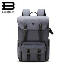 "BAGSMART Brand Backpack For Photo DSLR CANON Camera Bag NIKON Digital SLR Backpack Laptop 15.4"" with All Weather Cover Daypack(China)"