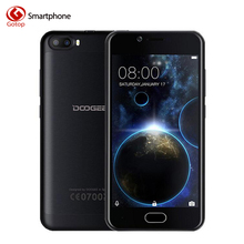 Doogee Shoot 2 Smartphone Android 7.0 MT6580A Quad Core Mobile Phone 2GB RAM 16GB ROM Dual back camera Unlocked Cell Phone