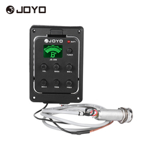 JOYO JE-306 5-Band EQ Equalizer Acoustic Guitar Piezo Pickup Preamp Tuner System with LCD Dispaly(China)