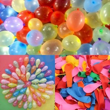 500Pcs No3 Water Bombs Colorful Water Balloons for Party Children Sand Toy