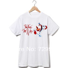 Pink Floyd the wall evil flower logo vintage fashion do old processing men women t shirt 2014 new