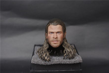 1/6 Head Sculpt Scale Accessories Hot Toys Thor Figure The Avengers Action Figures Chris Hemsworth Soldier Male Toy