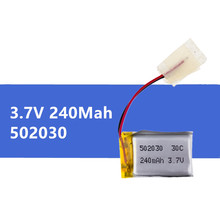 3.7V 240mAh 30C Li-Po Battery 502030 1 pcs Hot sale For 6020 Syma S107 S108 S109 S026 rc Helicopter rc quadcopter