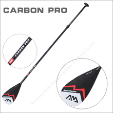 AQUA MARINA carbon fiber pro fiber paddle for SUP stand up paddle surf board adjustable extendable 210cm oar T handle