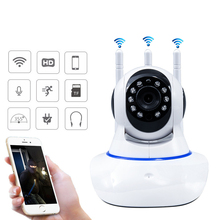Buy Wireless IP Camera 1080P HD WiFi Networ Security Night Vision Audio Video Surveillance CCTV Camera Smart Home Baby Monitor for $37.79 in AliExpress store