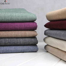 Thickening coarse linen sofa fabric material solid color sofa set pillow cushion car covers soft bag cloth home sewing DIY fabri