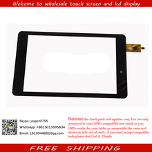 "7"" inch FM709501LB Capacitive Touch screen Panel digitizer GlassTablet PC MID For NAVON Predator 7 Android 4.4 KitKat FEKETE pc"