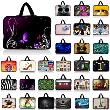 Fashion Soft Sleeve Bag Case For Macbook Air Retina Pro 11.6 13.3 14.4 15.4 15.6 17.3 Computer For Asus Hp Lenovo Laptop bag(China)