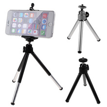 Mini Rotatable Stand Tripod Mount + Holder for Samsung Galaxy S5 S4 S3 Note 4 Mobile Phone