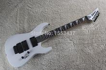 Top Quality musical instrument white color floyd rose guitar Jackson SL2H USA Soloist Metallica Electric Guitar hott3(China)