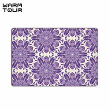 Buy WARM TOUR Flower Printed Non-slip Carpet Welcome Door Mats Indoor Kitchen Entrance Bathroom Living Room Floor Doormat Rug for $14.81 in AliExpress store