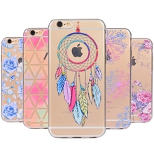Buy Cartoon Dreamcatcher Silicone Case Coque iPhone 7 7Plus Fashion Soft Cover Fundas iPhone 7 6 6s 8 Plus Apple X Cases for $1.89 in AliExpress store