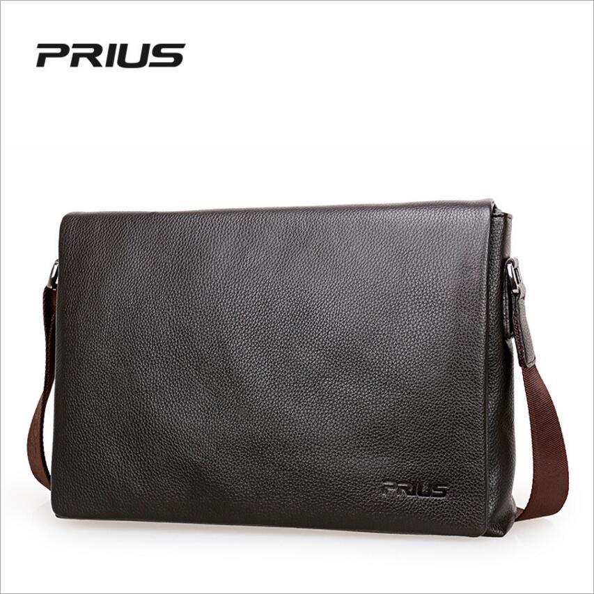 PRIUS Brand Mens Casual Package High-end Fashion 2017 New Mens Package Shoulder Bag Men Messenger Bag Shoulder Bag<br>