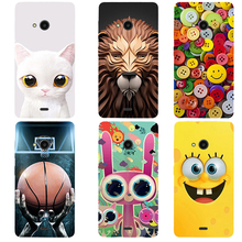 New Fashion Case for Microsoft Nokia Lumia 540 Case Heros Printed Ultra Thin Cell Phone Cases Fundas Mobile Back Cover Capa