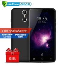 Ulefone Vienna Mobile Phone 5.5 Inch FHD MTK6753 Octa Core Android 6.0 3GB RAM 32GB ROM 13MP Camera Fingerprint ID 4G Phone