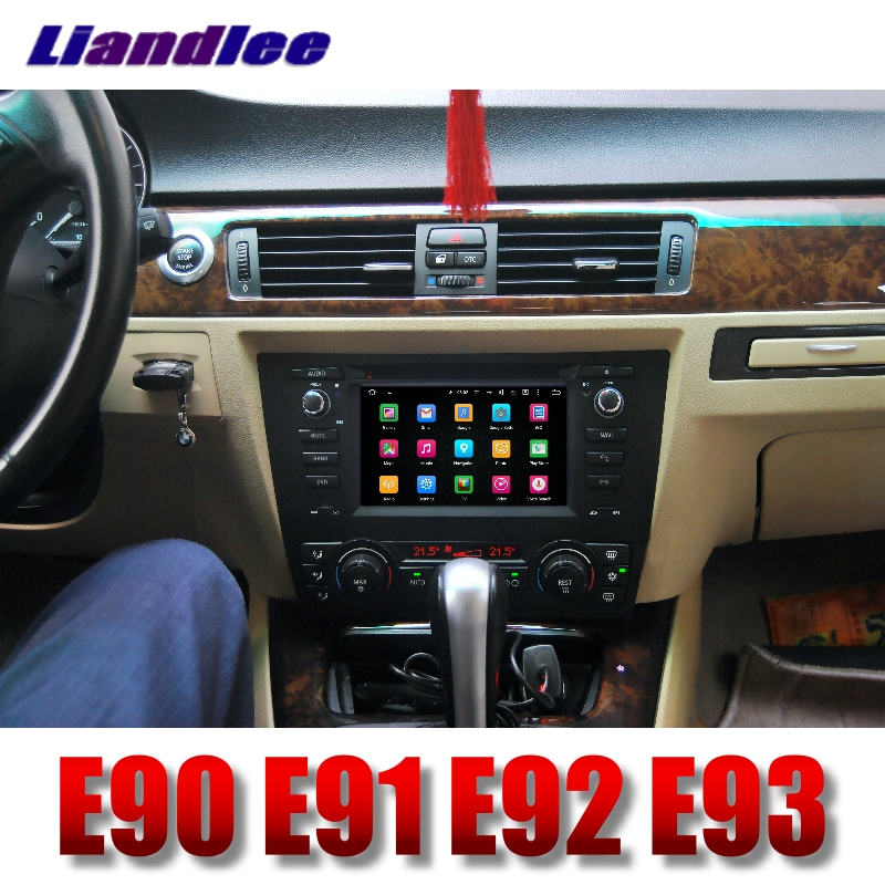 Liandlee Car Multimedia Player NAVI For BMW 3 E90 E91 E92 E93 2005~2013 With DVD BT Car Radio Stereo GPS Navigation Touch Screen 12