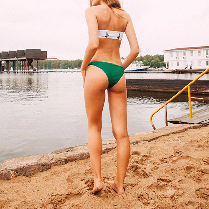 Push up swimsuit Print micro bikini 11