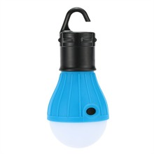Plastic Outdoor Camping Lamp Tent Light Torch Flashlight Hanging Flat LED Light 3 Mode Adjustable Lantern AAA Battery ABS H7