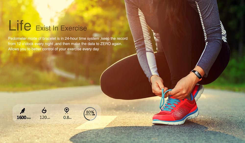 HUINIU Sport Smart Band Waterproof Bluetooth Bracelet Activity Tracker Heart Rate Monitor Smartband Message Reminder Wristbands 6