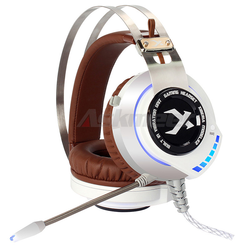 XIBERIA K2 Computer Gaming Headphones Stereo Surround Sound Glowing LED Light Game Headset Gamer with Microphone fone de ouvido (7)