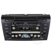 head unit for Mazda 3 2004-2009 Car DVD GPS with digital touch screen/Radio/Audio/DVD player/BT/GPS/IPOD/3G USB Host Free map