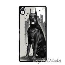 Doberman Dog Cover Case for Sony xperia Z Z1 Z2 Z3 Z4 Z5 Compact C C3 C4 C5 M2 M4 T2 T3 E4 X XA Performance
