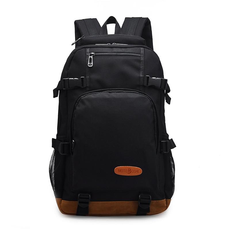 Waterproof Cool Backpack Men Preppy Style School Bag for Teenagers Boys High Middle School Student Schoolbag Large Capacity<br><br>Aliexpress