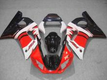 Motorcycle Fairing kit for YAMAHA YZFR6 98 99 00 01 02 YZF R6 1998 2000 2002 YZF600 Red white black Fairings Set+7gifts YX15
